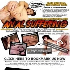 Anal Suffering