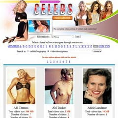 Celebs Video Archive